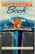 FORDSON SUPER MAJOR TRACTOR OPERATORS MANUAL