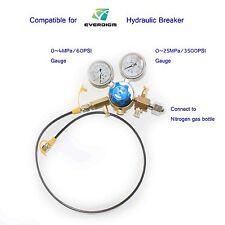 Hanwoo EVERDIGM hydraulic Breaker Hammer Nitrogen Gas Charging Device(JY10)