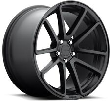 19x8.5 Rotiform SPF R122 5x112 +45 Black Rims Fits VW cc eos golf jetta gti
