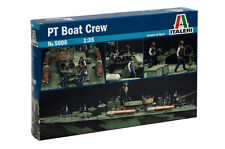 Italeri 5606 1/35 Scale Military Model Kit WWII U.S.Navy PT Boat Crew Figure(10)