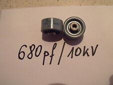 Pomello Condensatore 680pf/10 kV... 1pcs.