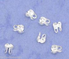1000 SP Calottes End Crimps Beads Tips 4x3.5mm B09864