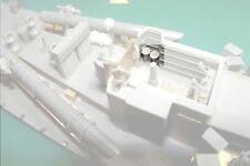 Coastal Craft Vickers G.O gun drum magazine lockers x 4 1:72 Model boat Fittings