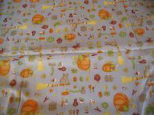 """coupon tissu enfant  """" halloween """"  67 X 76  cm  (  coton assez épais )"""