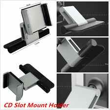 Universal Car CD Slot Holder Mount For 3.5-5.5'' Mobile Phone iPhone Sat Nav GPS