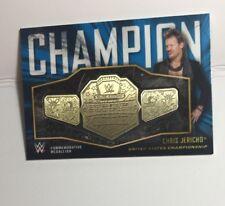 2018 Tops Chris Jericho Commemorative Medallion Card 45/50 *