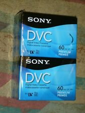 Sony DVC Digital Video Cassette Tapes - 60 Minutes 4 pack