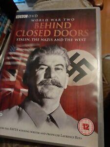 World War II: Behind Closed Doors DVD (2008) Laurence Rees cert 12 2 discs