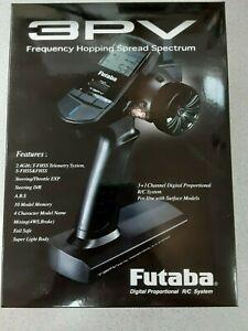 Futaba 3PV 3-Channel 2.4GHz S-FHSS Radio System w/ R203GF Receiver Brand New!!
