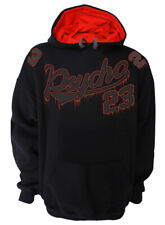 Black Psycho 23 Black  Hoody Hoodies S Mens Darkside