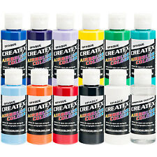 Createx 11 COLOR OPAQUE SET Airbrush Paint Colors