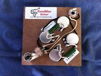 Upgrade Prewired Wiring Harness Kit Fits Gibson Epiphone SG PIO Tone Caps