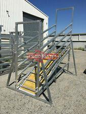 Heavy Duty Cattle Yard Loading Ramp Cattle Yard Panel Cattle Yard Gate