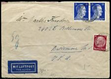 WWII  II ERA GERMANY CHANCELLOR FRANKED ARMED FORCES HIGH COMMAND CENSORED COVER