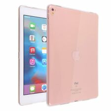 """For iPad Pro 9.7"""" Crystal Clear Case Slim Fit Transparent Back Soft Rubber Cover"""