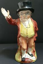 Staffordshire Character Toby Jug 'Mr. Pickwick' c.1880
