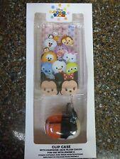 Disney Store Authentic Tsum Clip Case iPhone 6 w/ Plush Mickey Earphone Jack NEW