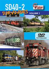 SD40-2 Survivors DVD NEW Volume 1 EMD Minnesota Wisconsin BNSF CP UP CN
