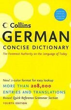 Collins German Concise Dictionary, 4e (HarperCollins Concise Dictionaries)