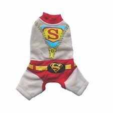 Animale Domestico Abbigliamento - Cane Vestiti - Beige Superman Abito (SGY010)