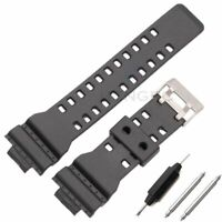 16mm Silicone Rubber Watch Band Strap Fit For Casio G Shock Replacement Bracelet