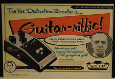 1998 Vox V830 Distortion Booster for electric guitar print ad