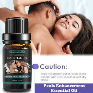 Longer Thicker Penis Enlargement Sex Oil Mens Libido Erection Enlarger Stronger