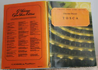 Tosca Giacomo Puccini Vocal Score 1956 G. Schirmer Opera Score Editions SC