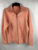 Tommy Bahama Peach Color Full  Zip Up Womens Jacket Size Large