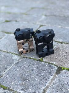 Unity Style Fast Micro Aimpoint T1 / T2 High Rise Mount Only Black / FDE Airsoft