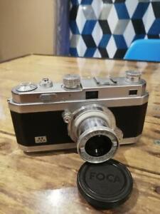 Appareil photo argentique vintage foca PF2b