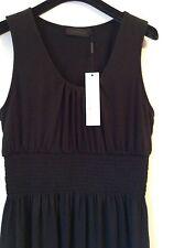 BNWT 100% Auth Calvin Klein, Classy Black Dress With Logo. L RRP £140