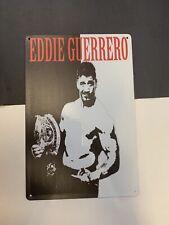 eddie guerrero Wwf Wwe Championship Belt Tin Sign Poster