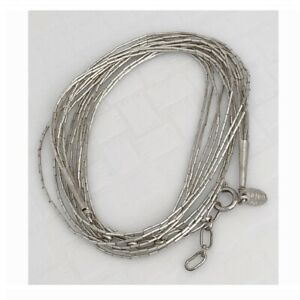 Vintage 925 Sterling Silver SAGEN  Multi-strand Necklace