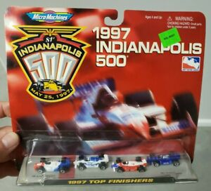 1997 Micro Machines 74972 Indianapolis 500 1997 Top Finishers