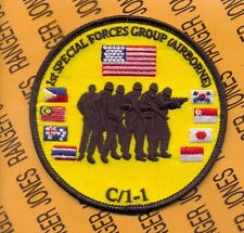 1st Special Forces Group Airborne SFGA OEF OIF ODA C-1-1 pocket patch