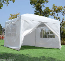 Outsunny10x10FT Pop Up Party Tent Folding Gazebo Wedding Tent Canopy