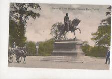 Statue Of Lord Gough Phoenix Park Dublin Ireland 1908 Postcard 195b
