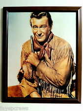 JOHN WAYNE PICTURE YOUNGER DAYS FRAMED 16X20