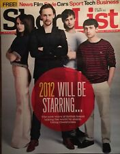 ShortList Magazine #208 Tom Hiddleston Douglas Booth NEW