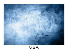 7x5ft Grunge Blue Background Prop Backdrop Photography Abstract Studio View Show