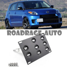 For 08-14 Scion xD Bumper Tow Hook Hole Cover License Plate Bracket Mount Holder