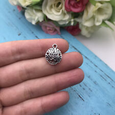 10pcs Sand Dollar Charm Tibet silver Charms Pendants DIY Jewellery Making crafts