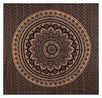 Indian Queen Size Bohemian Tapestry Mandala Throw Hippie Bedspread Wall Hanging