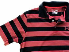 Mens Shirt Under Armour size Medium Short Sleeve Polo Top Loose (ab48)