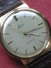 Laco electric, Kal. 861, Herrenarmbanduhr, erste deutsche elektrische Uhr, 1961