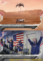 NASA Perseverance Mars Rover Landing - TOPPS NOW Card 1 & 2 LOT  **IN HAND**