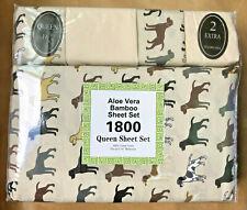 Super-Soft Organic Bamboo Sheet Set QUEEN 6-piece - Hypoallergenic -Eco-friendly