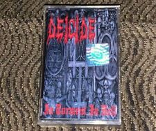 Deicide – In Torment In Hell. Cassette Tape Plays Well Rare Metal Mind Official