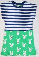 John Lewis  Donna Wilson girls summer jersey print dress age 1-8 rrp £20 rabbit